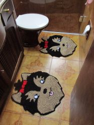 Kit Tapete Banheiro Yorkshire